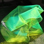 Mark Titmarsh: Chromophiliac 2 (2010) (green) slumped perspex. 64 x 80 x 93cm. 14 Riverdale Ave