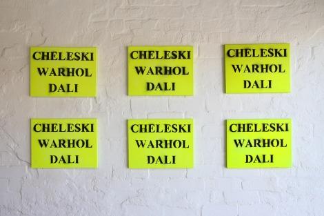 Carl Cheleski: Cheleski Warhol Dali, 2009