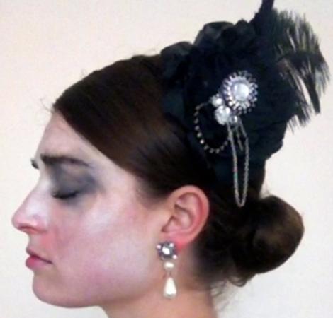 Markela Panegyres: Lorelei. Performance-video still, 2012-2013