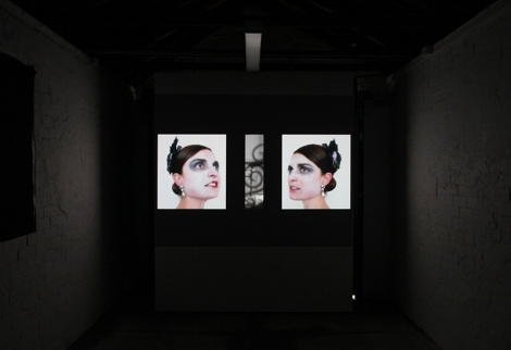 Markela Panegyres: Lorelei. video installation still, 2013