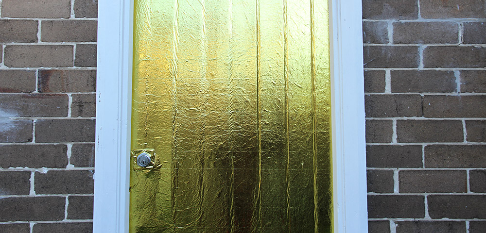 Kim Connerton: Golden Entrance (2013), detail
