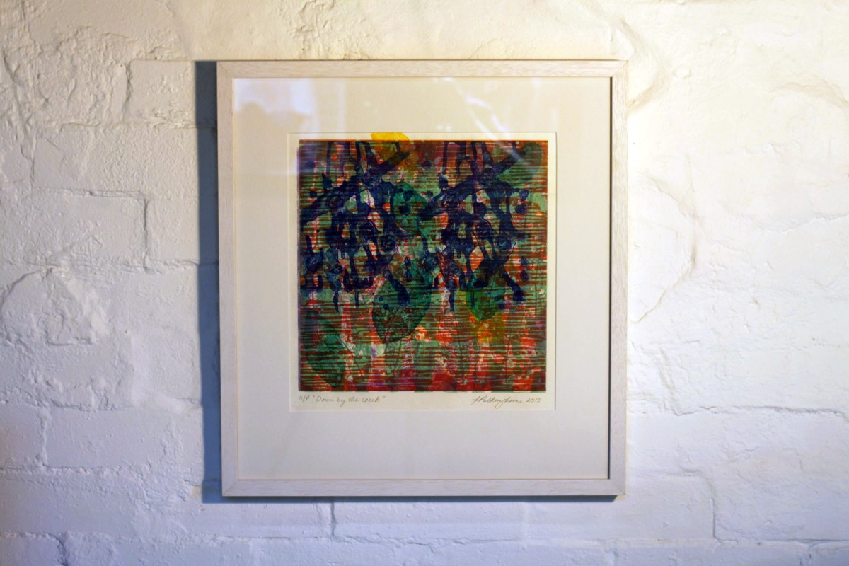 Fiona Polkinghorne Down by the Creek, 2013 Material: Photopolymer etching & relief print SOLD