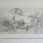 Jurgen Kerkovius: Walter-Withers_Storm_Hi-Res.jpg, 2013. Graphite on Paper. 42 x 59.4cm