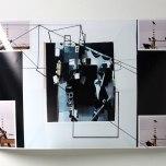 Justene Williams: Automobile & Lady, 2013, collage 1, 63.7cm x 47cm SOLD