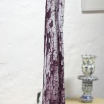 Lisa Andrew: Icicle, Covert, 2013, archival ink on Georgette. Approx w 20 cm X h 70cm X d 15 cm