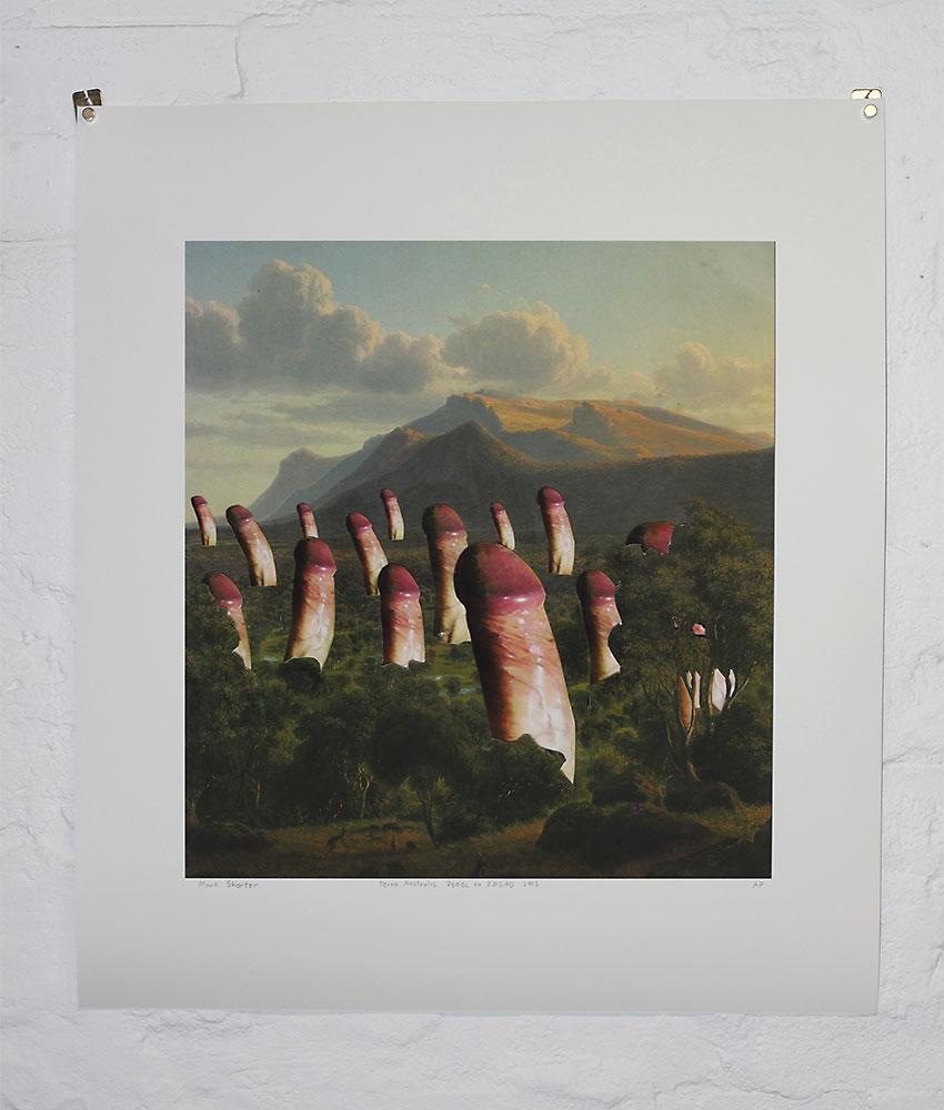 Mark Shorter: Terror Australis, 2013, artist proof. Pigment inkjet on cotton rag