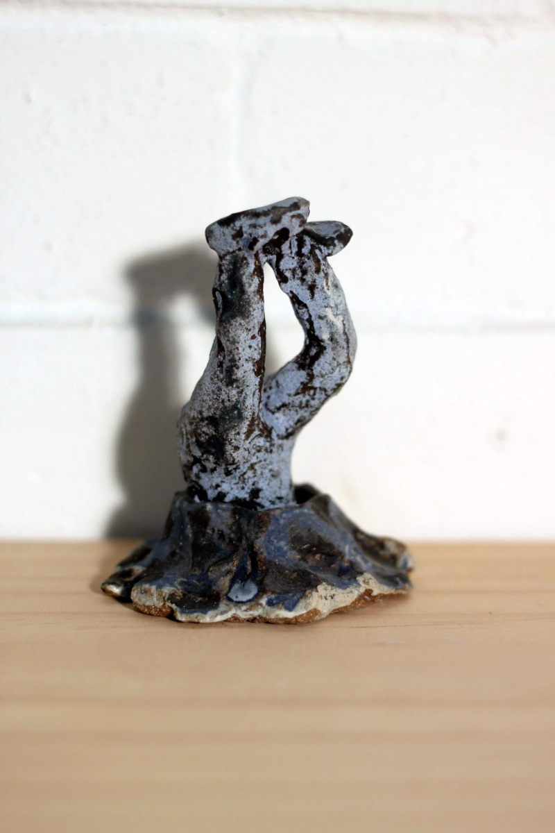 Trevor Fry Maquette for Black Hole, 2012 Glazed stoneware