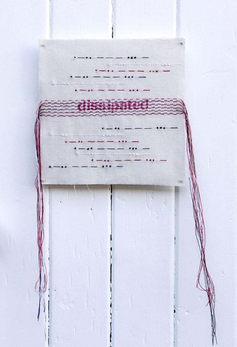 Annie Aitken: Coded, 2013, mixed media