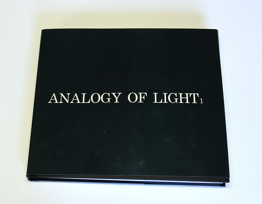 Bronia Iwanczak: Analogy of Light 1, approx 240 pages, 25cm x20cm, 2013