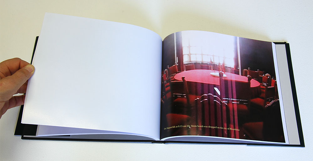 Bronia Iwanczak: Analogy of Light 1, detail. Approx 240 pages, 25cm x20cm, 2013