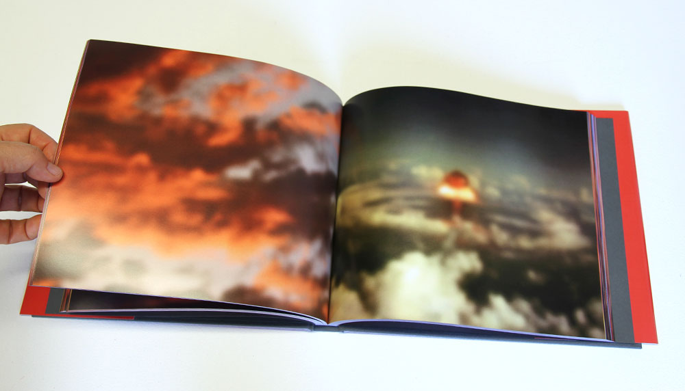 Bronia Iwanczak: Analogy of Light 3, detail. Approx 240 pages, 25cm x20cm, 2013
