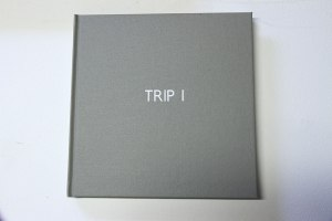 Paul Borderi and Jane Polkinghorne Trip 1, 2013. 20 x 20 cm, hardbound, embossed.