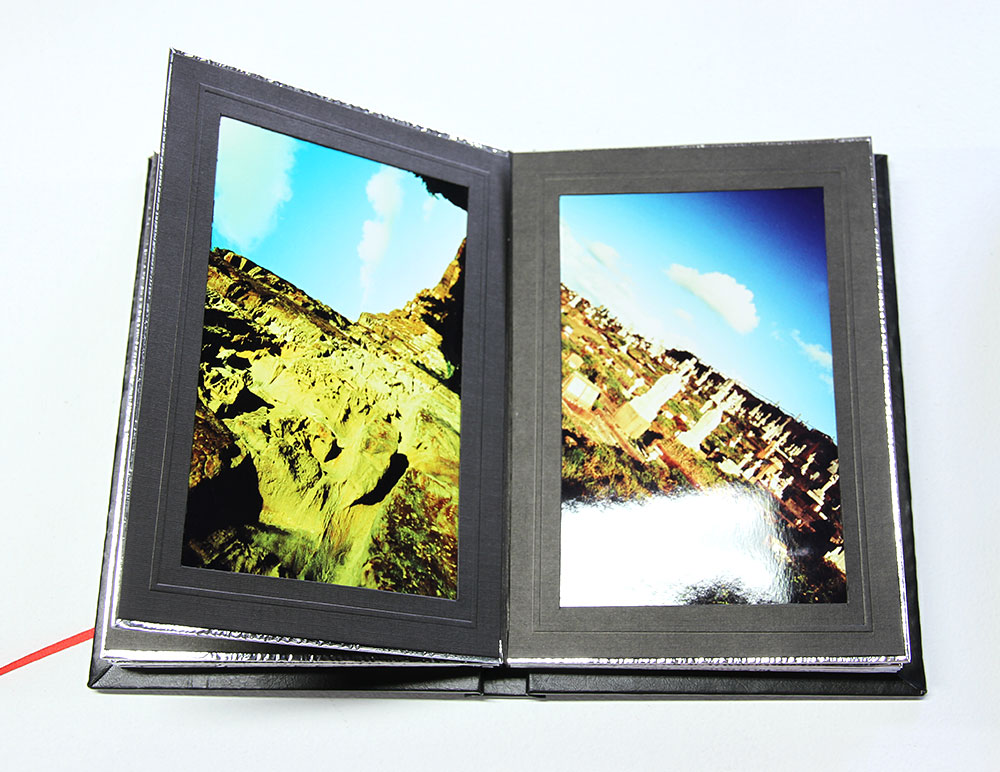 C.Moore Hardy: Unconscious... , detail. Hand made books with colour photographic prints