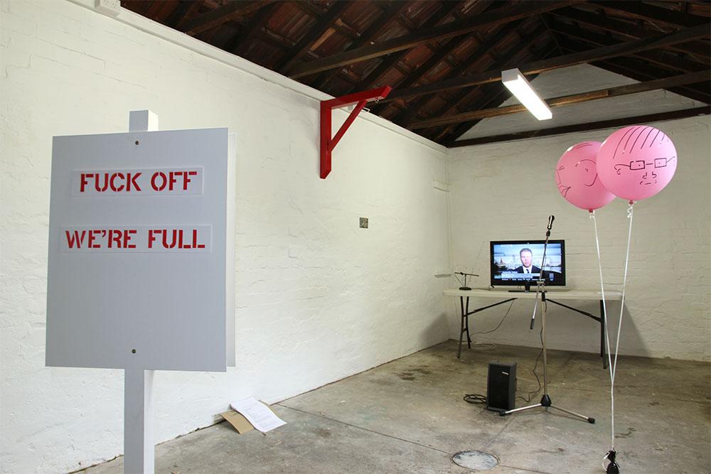 Dark Arts: Installation view