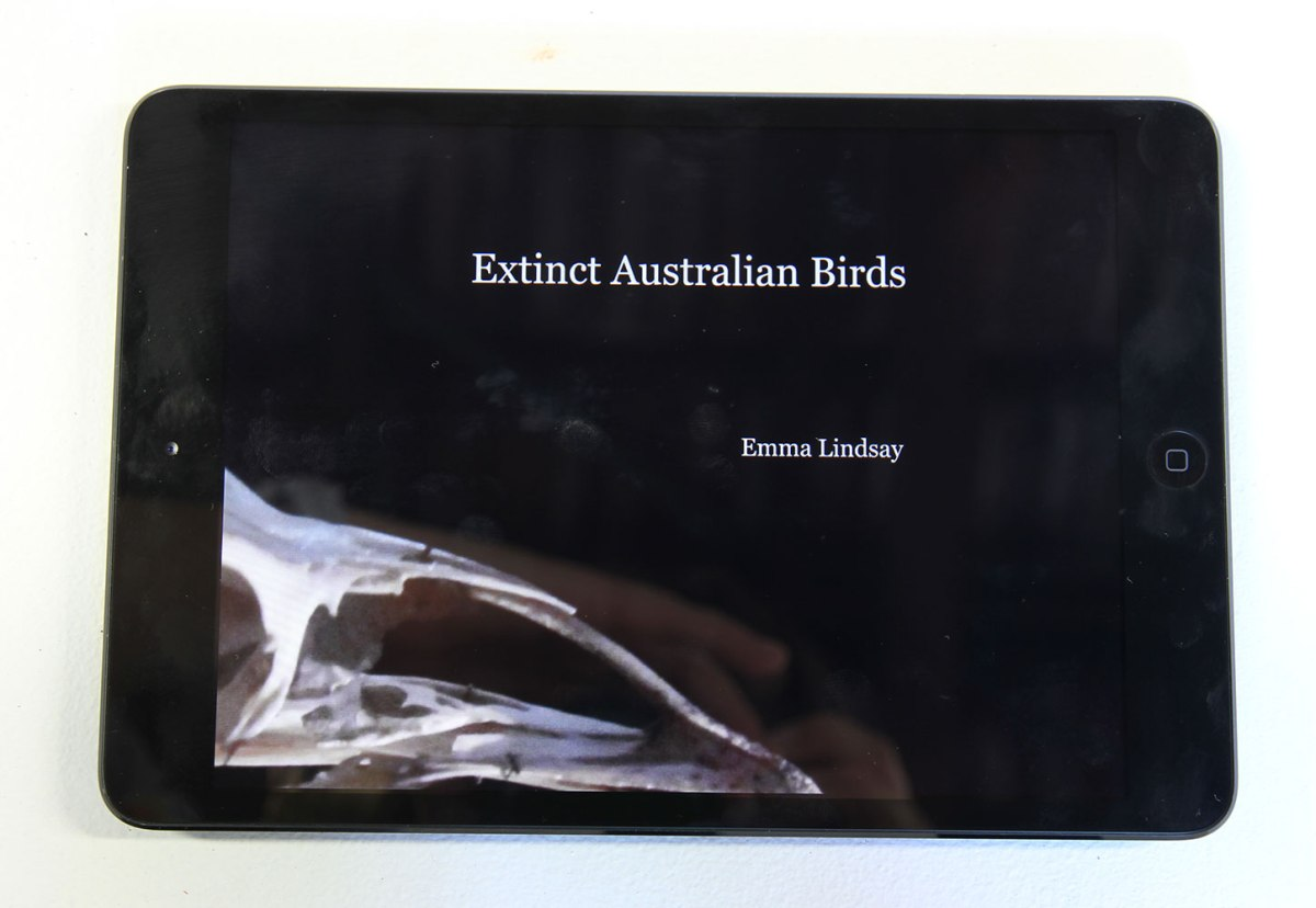 Emma Lindsay: Extinct Australian Birds: Fieldwork, 2013, eBook