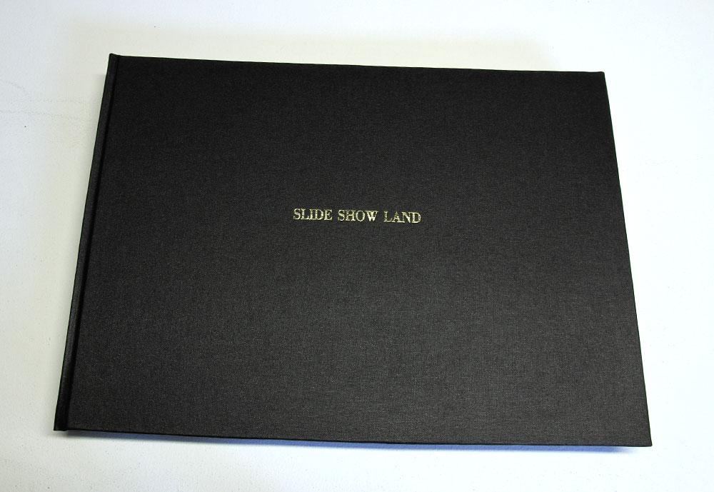 Elvis Richardson: SLIDE SHOW LAND Dorothy and Jack, 184 colour pages digital prints on lustre paper, 42x29cm, Hard bound cover, stitched binding, no edition