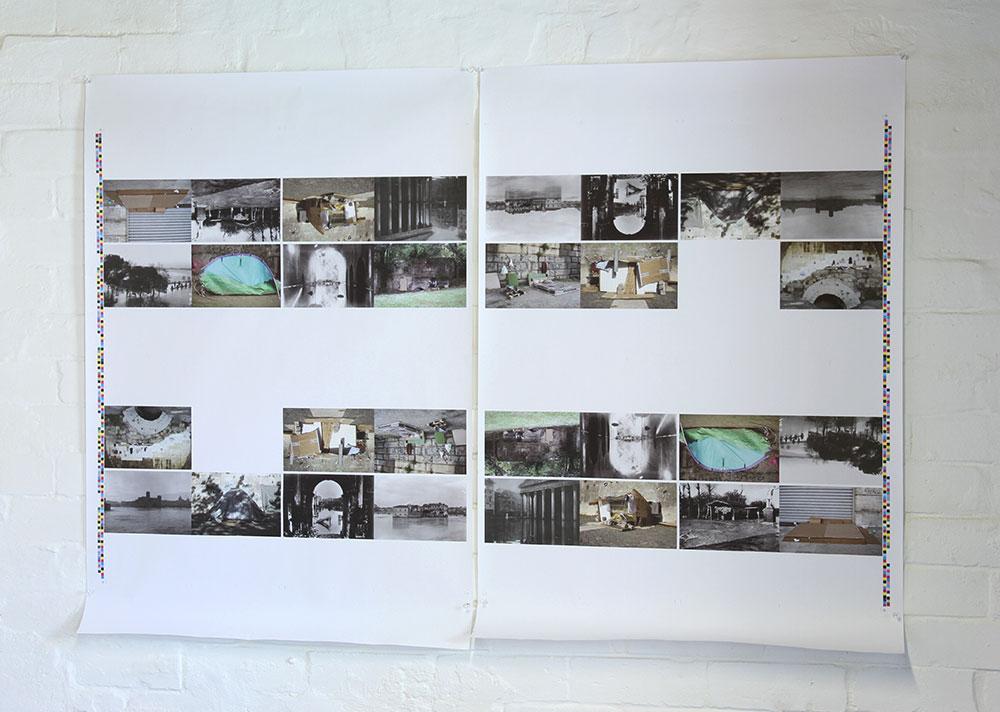 Andrew Hazewinkel: The Acqua Alta Project, printers proofs, A1