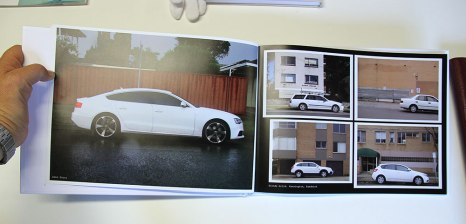 Peter Nelson: WHITE FOUR DOOR , 2013, detail. A4 hardcover
