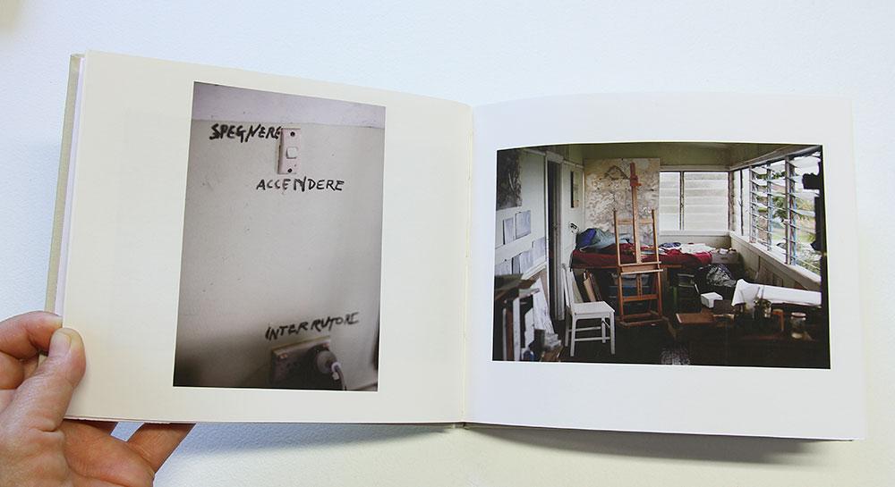 Rowan Conroy: MORGO STREET, 2013, detail. 32 page case bound inkjet photobook on cotton rag