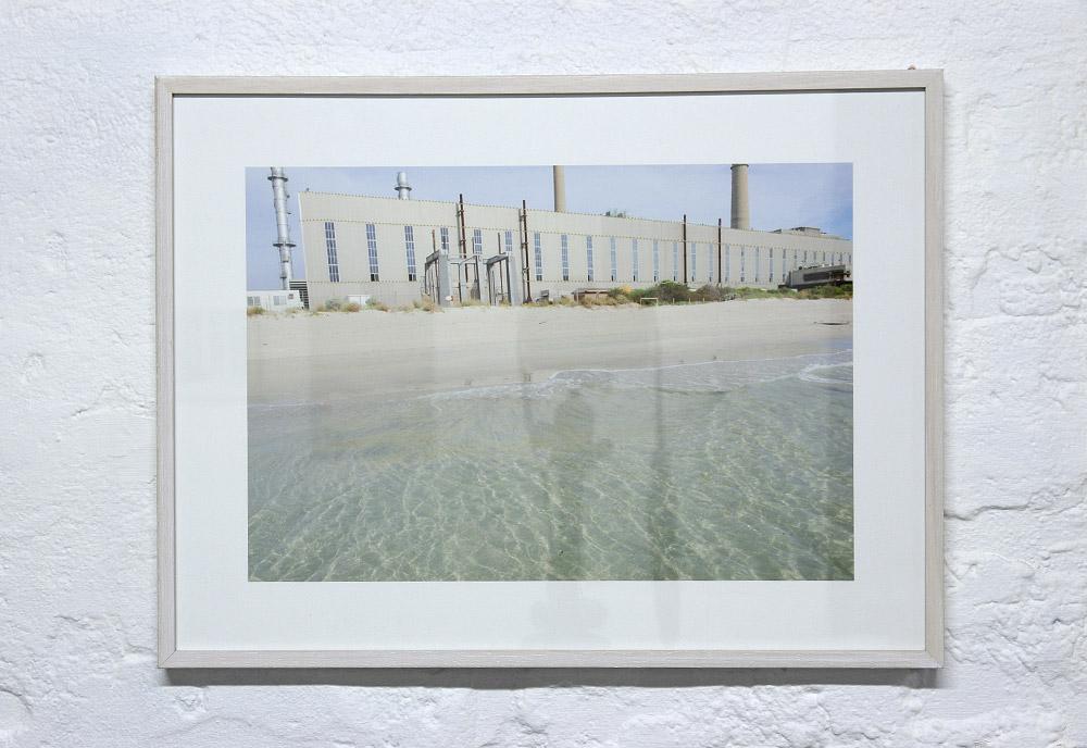 """Landfall III"", 2014, Justin Trtendall, archival digital print and cotton."