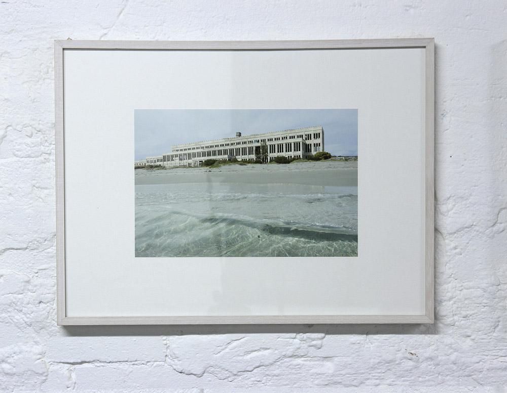 """Landfall II"", 2014, Justin Trtendall, archival digital print and cotton."