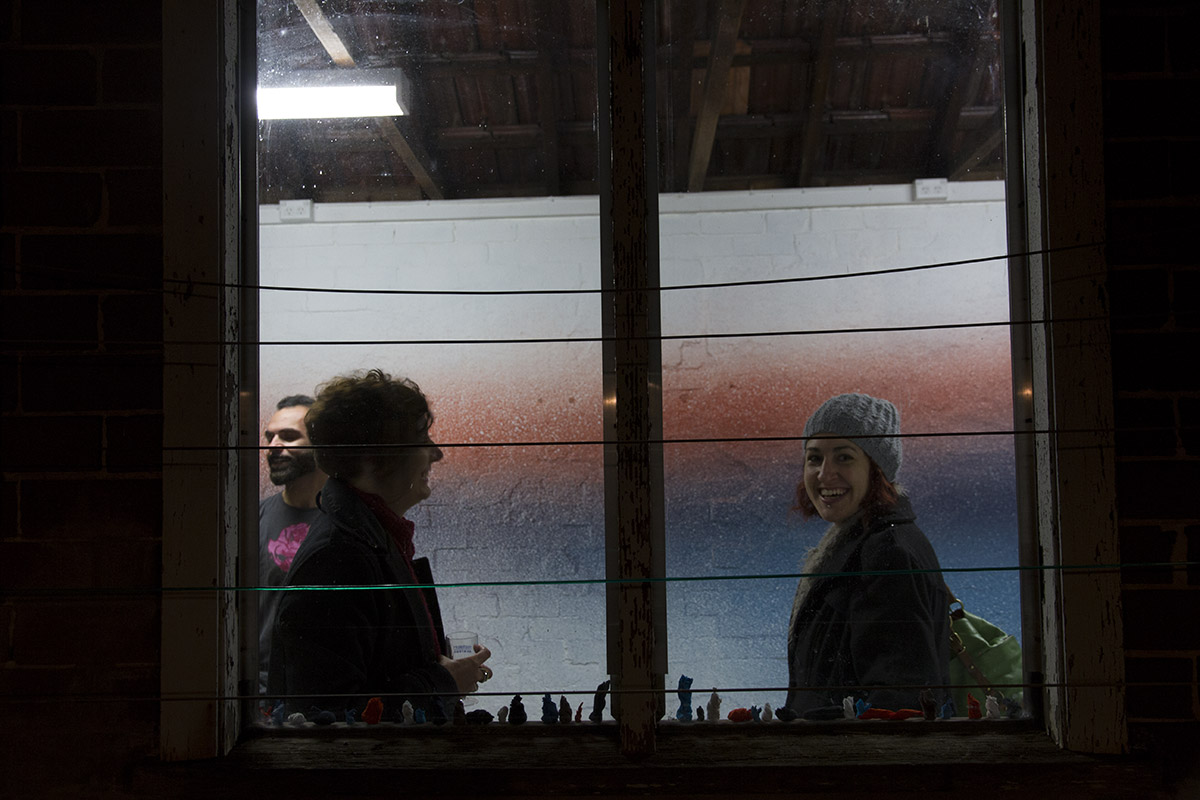 Pulped, Melissa Harvey. Opening night, 4th July 2014.