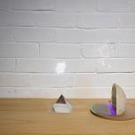 Rachael Neubauer, Untitled, Resin, foam, mylar