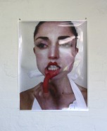 Markela Panegyres, Hooked, 2014. Edition 1/4 + 1 AP. Video / performance still. Digital print on photographic paper, 64.4 x 89.1cm