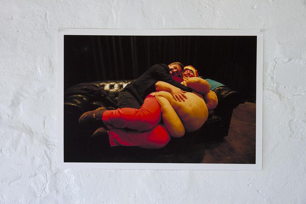 Sarah Goffman Fat Massage, 2014, AP A2 inkjet print on photo rag