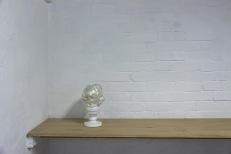 Francesca Mataraga 'shimmer', 2015, wood, styrofoam, expandable foam, acrylic, (base: epoxy on metal), 22cm x height 34cm