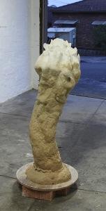 Trevor Fry: Place for Trixie la Farge, 2015. Unglazed ceramics.
