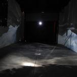 Claire Conroy, Garage Obscura, interior view, 2016