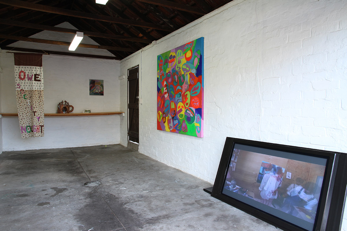 The Bammy Residency, installation view