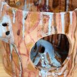 Jacqueline Larcombe, Ghost fish mug, 2016, earthenware, glaze