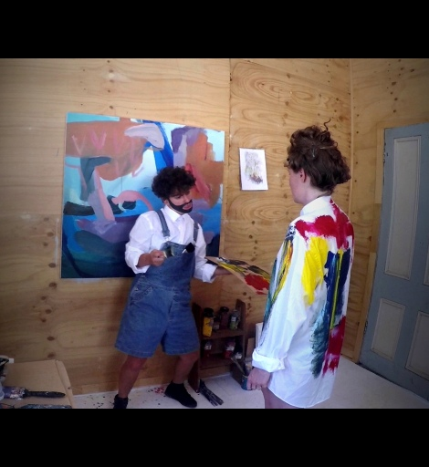 Prince Aydin, Paint Like A Man (Apparently): Take Two. Video, 2015-2016