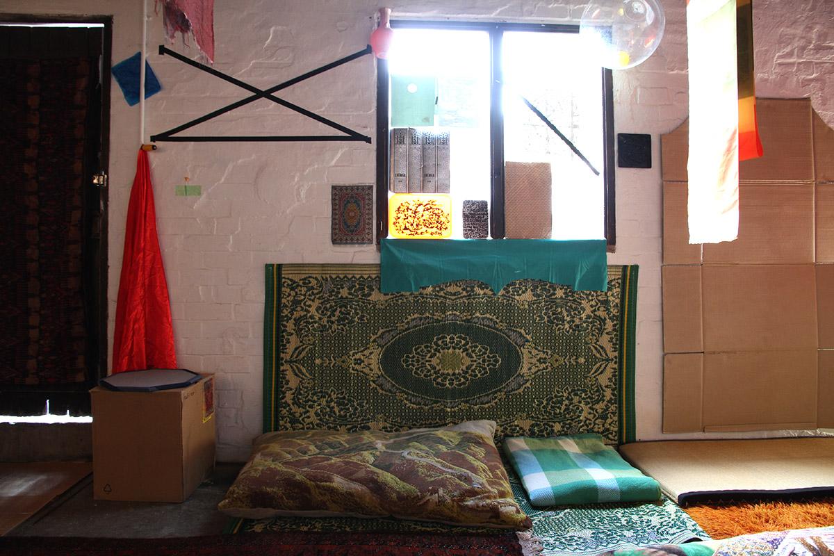 Sarah Goffman, Marrickville Opium Den, 2016. Installation view