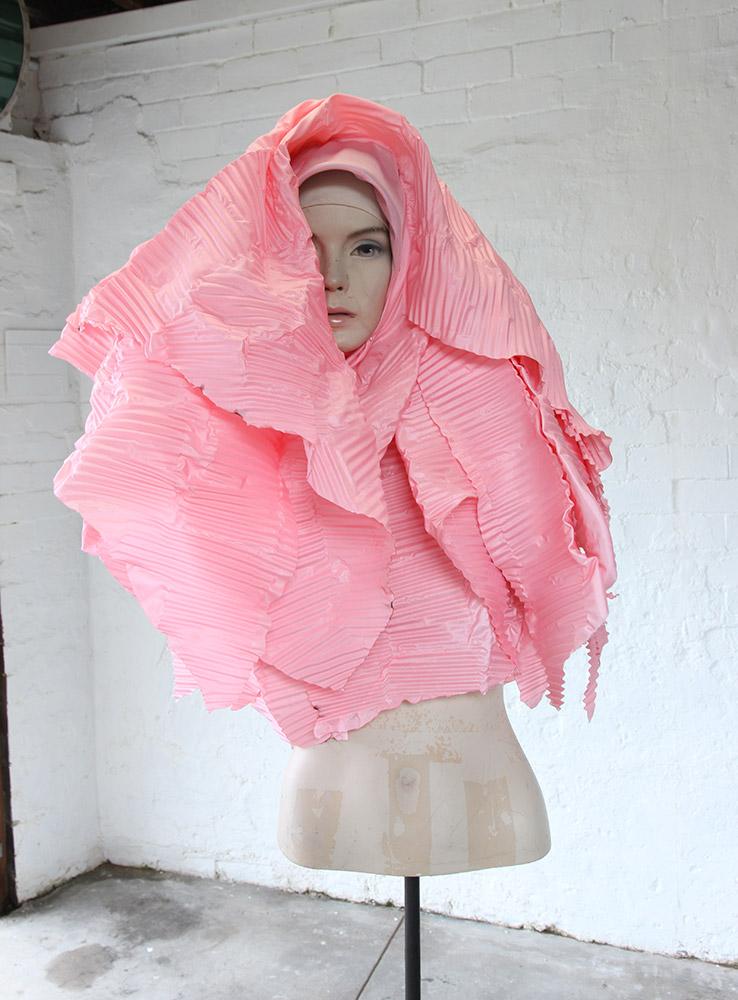 Cigdem Aydemir, What if I Crimp My Veil?, 2016. Dimensions variable