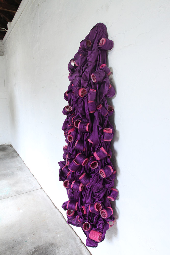 Cigdem Aydemir, What if I Curl My Veil?, 2016. Dimensions variable