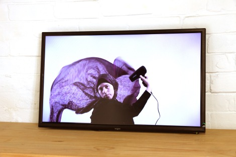 Cigdem Aydemir, Whirl 2015, installation view